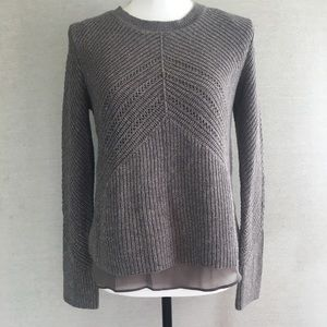 NWT Lucky Brand Nico Sparkly Knit Sweater